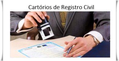 Cartórios de Registro
