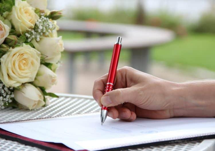 Fazer o Contrato de Namoro